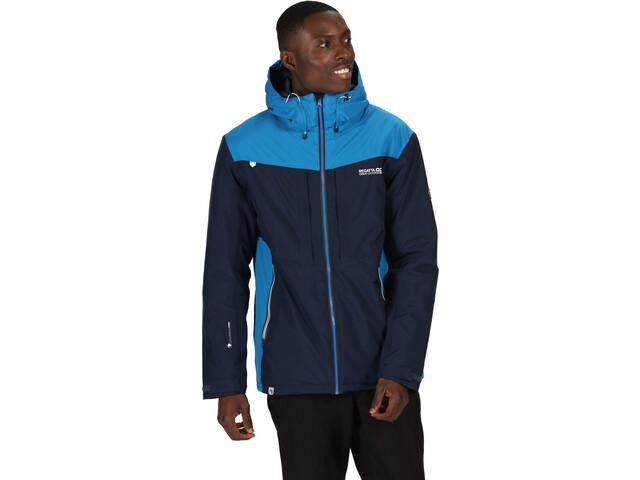 Regatta Highton Stretch Waterproof Insulated Jacket Men nightfall navy/imperial blue